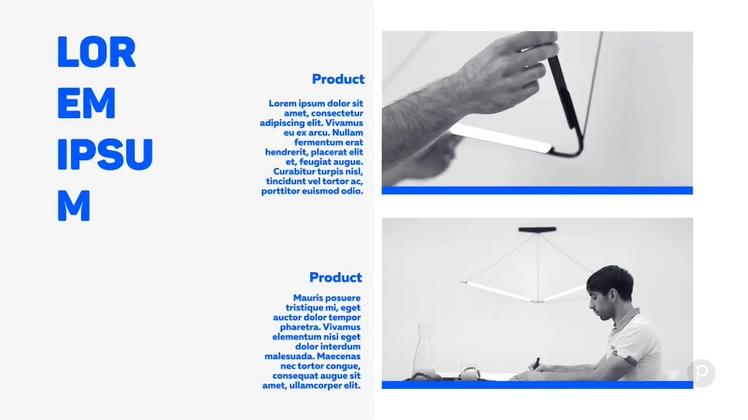 简洁商务业务宣传片头AE模板