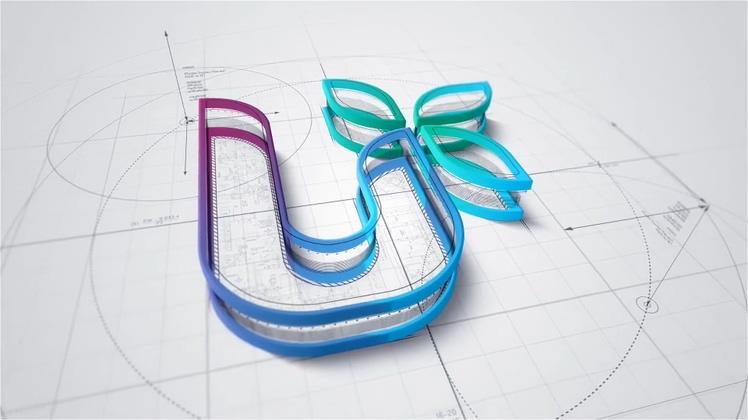工业设计图纸工作室logo演绎