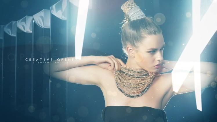 聚光灯照耀人物时尚颁视频素材