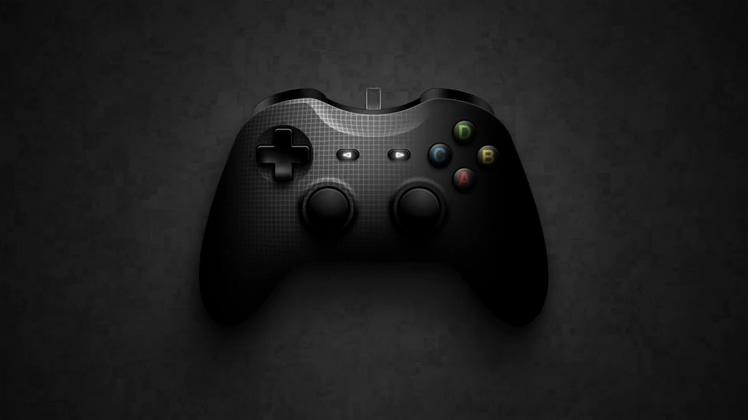 游戏,游戏手柄介绍游戏片头logo视频素材