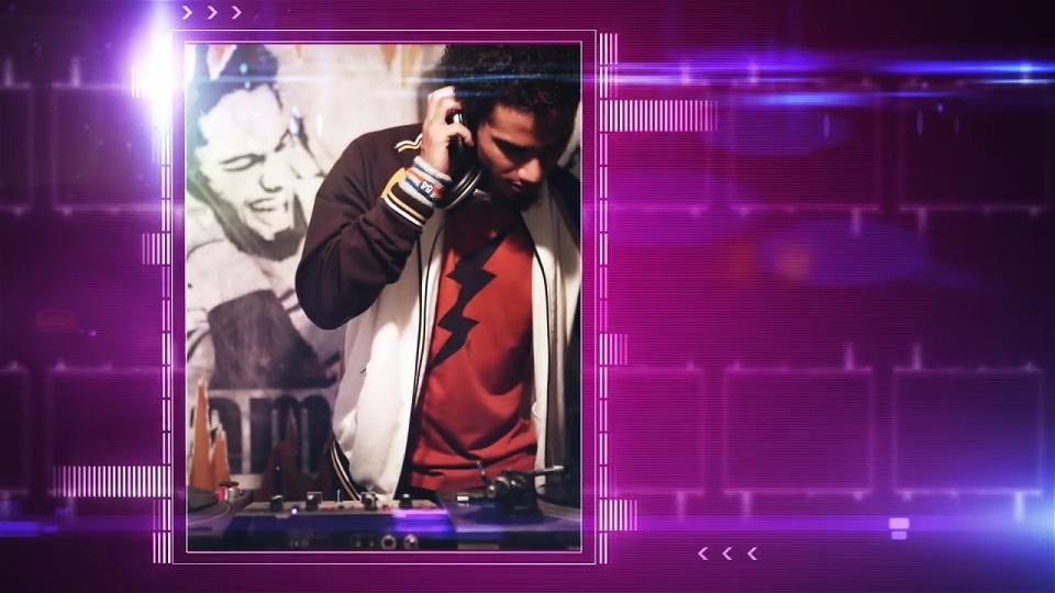 音乐,动感,动感音乐元素相册宣传AE片头视频素材