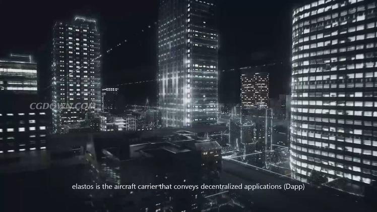 芯片能量科技未来概念宣传片视频素材