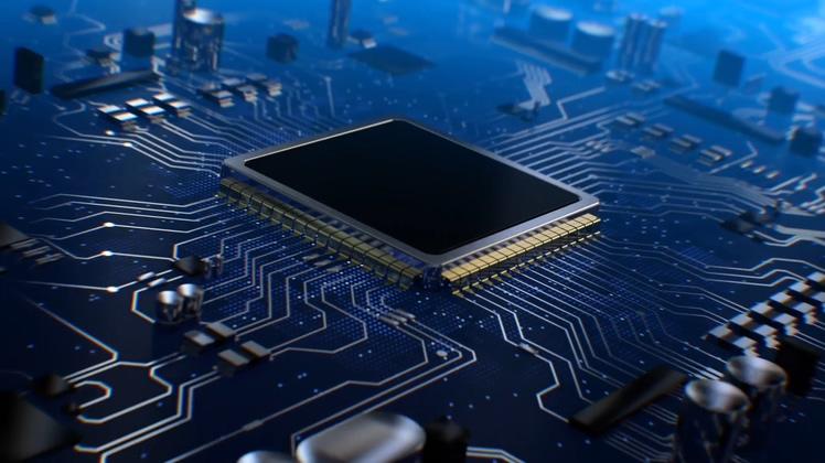 cpu,科技,电脑,cpu中央处理器logo演绎ae模板视频素材