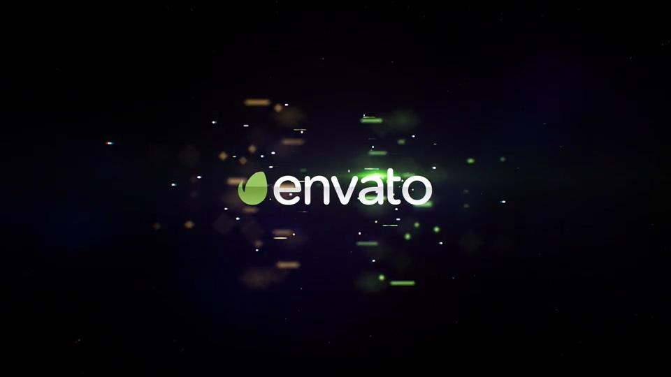 粒子,光线,logo,科技,酷炫螺旋粒子光线聚集logo演绎AE模板片头视频素材