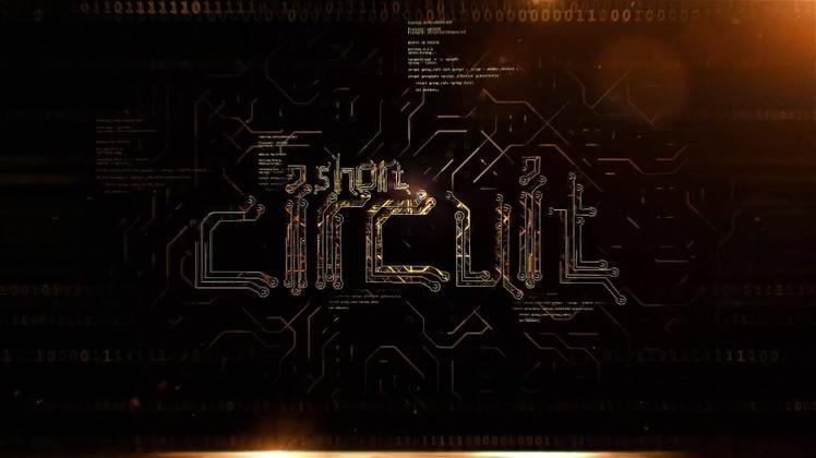 电路,科技,科技电路风格logo片头ae视频素材
