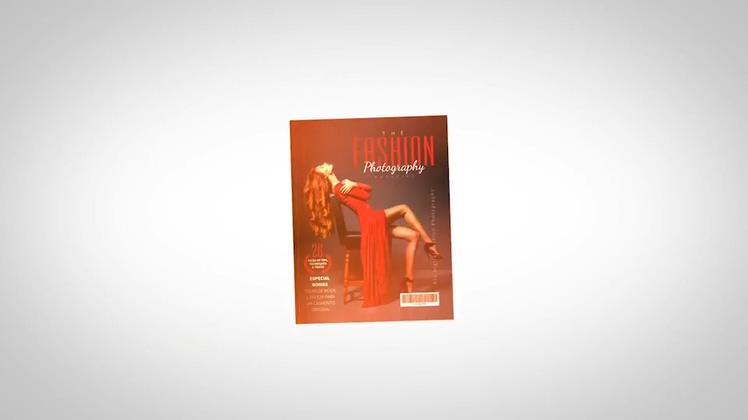 时尚杂志专辑宣传AE模板片头