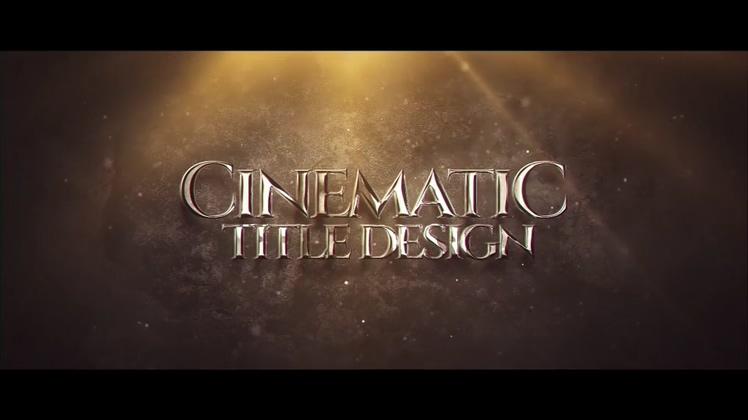 震撼金属质感电影游戏预告片开场片头