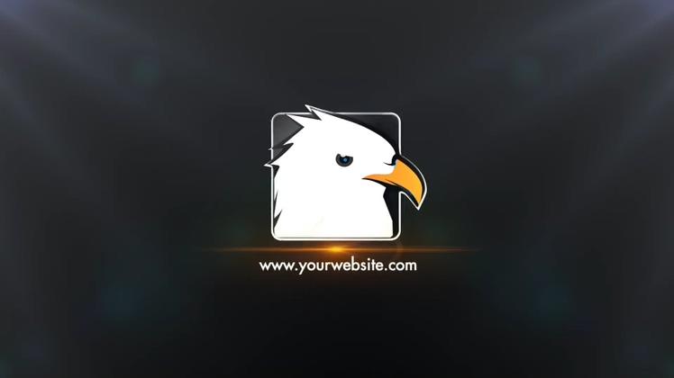 时尚科技简洁精美logo自媒体AE模板