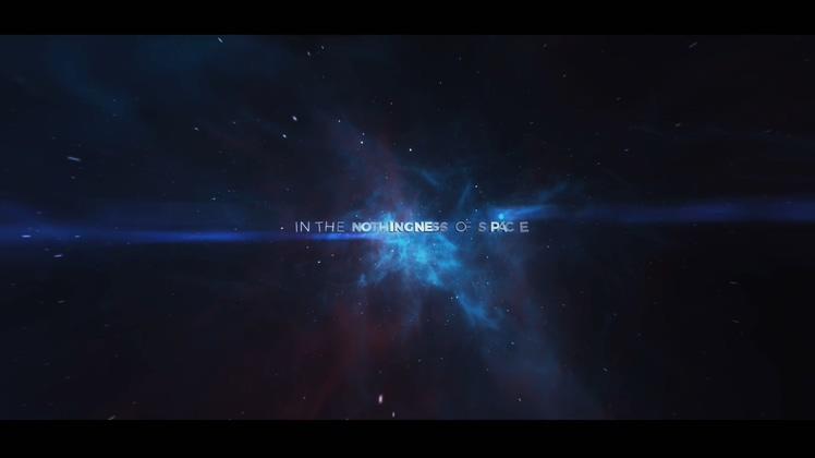 浩瀚宇宙太空星云文字片头AE模板