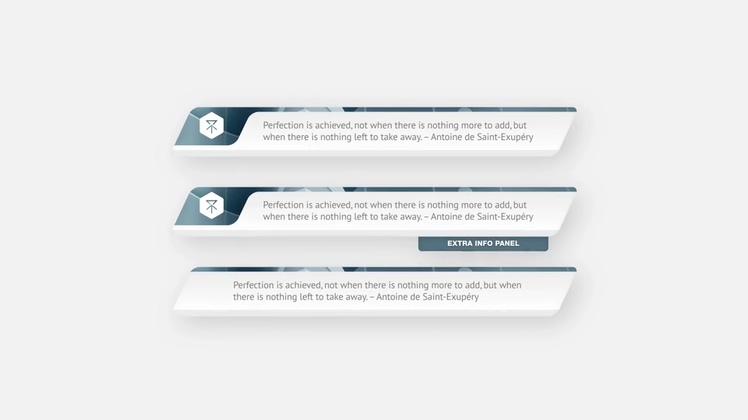 字幕版式,时尚新闻财经科技滑动mg字幕版式Jaguar - Lower Third Suite视频素材