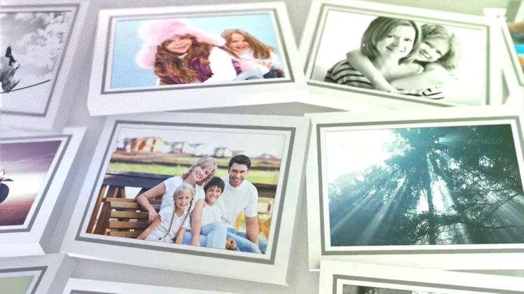 3d空间记忆相册展示家庭温馨Slideshow 11306531