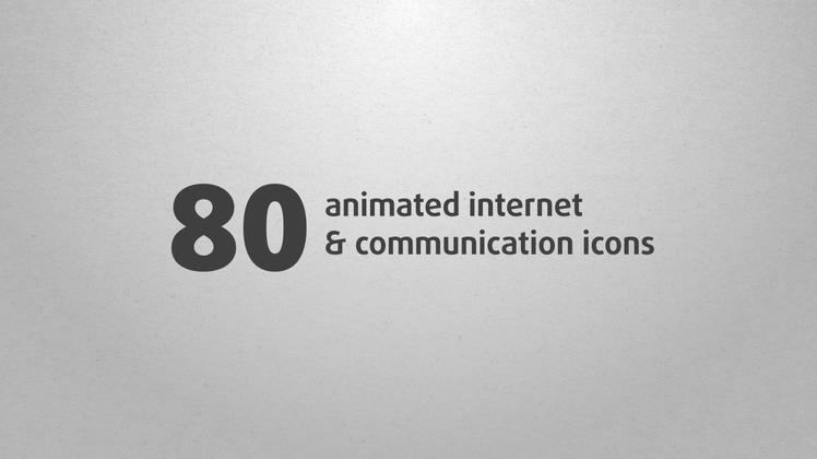 80种特色网络宣传视频动态图标特效