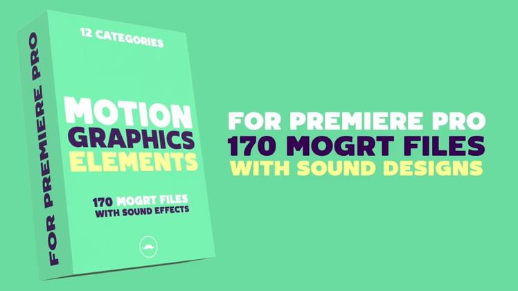 170种mg动画线条工程特辑PR工程