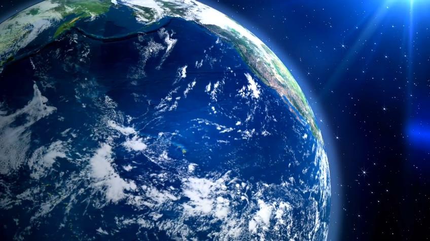 5个地球背景1080P视频素材