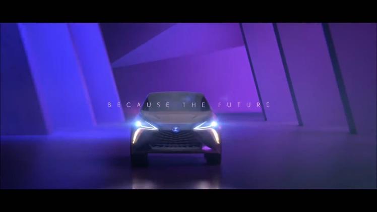 汽车,雷克萨斯,科技,广告,概念,雷克萨斯LF-12020款概念汽车广告展示视频素材