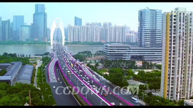 城市,广州,发展,航拍,飞机场,购物,旅游,最新的广州城市文化发展宣传片视频素材