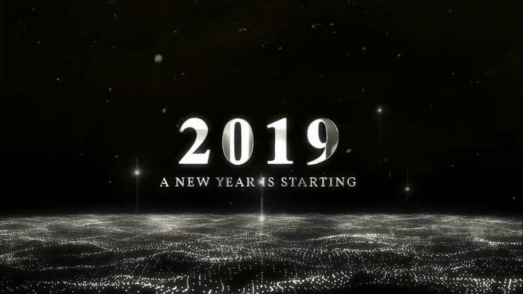 2019科技梦幻粒子爆炸倒计时