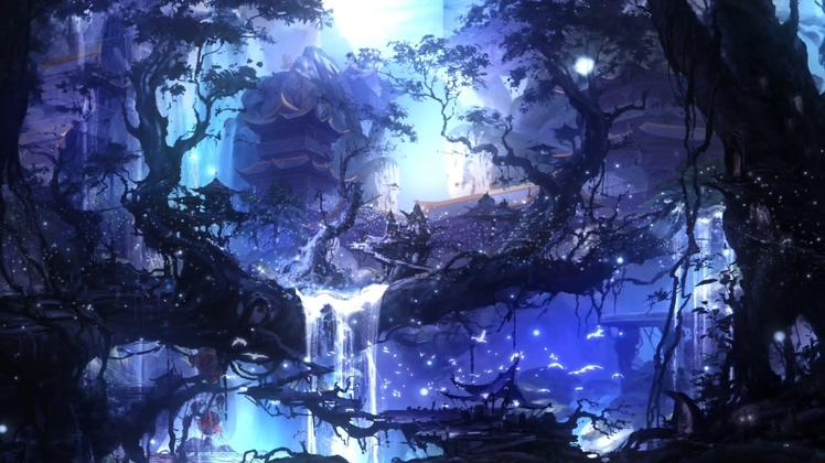 仙境,天堂,中国风,梦幻视频素材