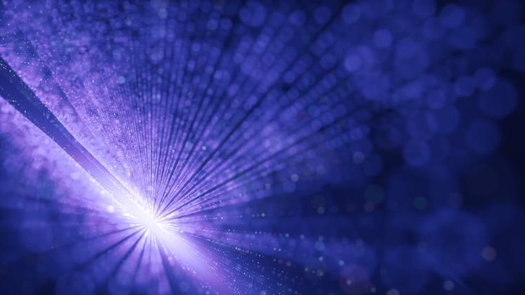 闪烁宇宙空间光芒四射夺目