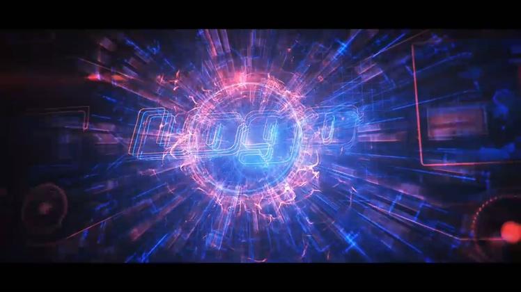 科技,炫酷,炫酷科技科幻能量hud线条片头,免费视频素材