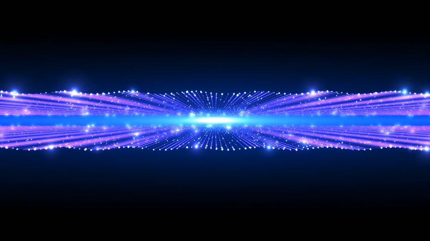 绚丽宇宙点线灿烂星光