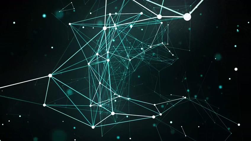 绿色科技生物点线人工智能