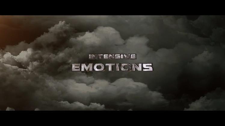 电影,乌云,预告,动感拼接画面运动音乐节奏PR模板视频素材