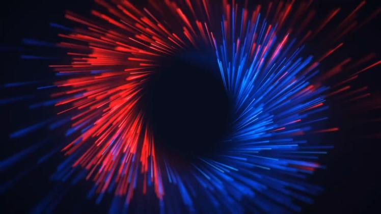 多彩,粒子,汇聚,logo,震撼多彩粒子旋转相聚时尚logo,免费视频素材