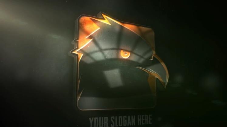 玻璃亚克力镜面质感效果logo演绎
