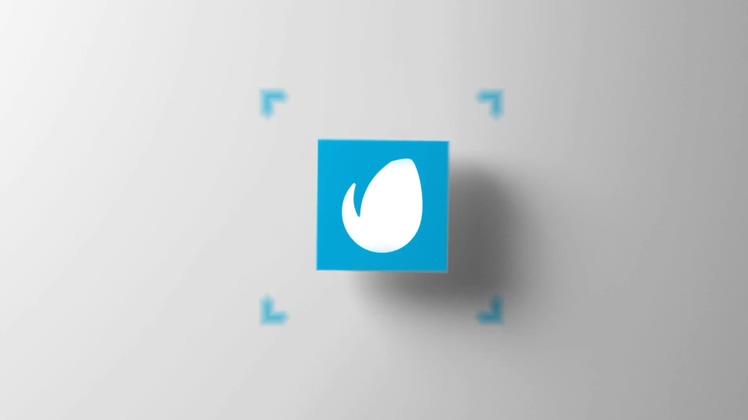 3d,盒子,自媒体,动感音乐3d盒子自媒体简洁片头,免费视频素材
