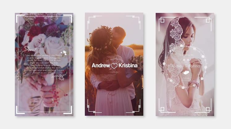 竖版,竖屏,婚礼,请柬,标题,手机竖屏婚礼请柬标题动态模板,免费视频素材