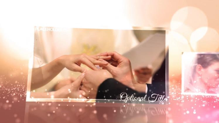 浪漫,婚礼,粒子,光晕,璀璨,浪漫光晕婚礼粒子璀璨爱情相册视频素材
