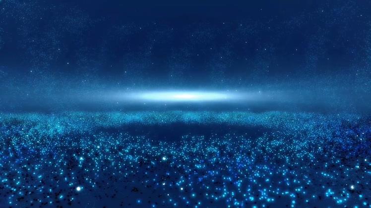 漩涡,璀璨,背景,旋转,恒星,蓝色,宇宙视频素材