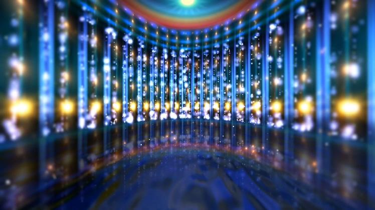 绚丽,LED,背景,空间,矩阵,多彩,玻璃,璀璨视频素材
