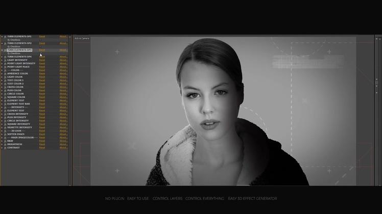 摄影,灯光,塑造真实摄影棚灯光效果AE工程,免费视频素材
