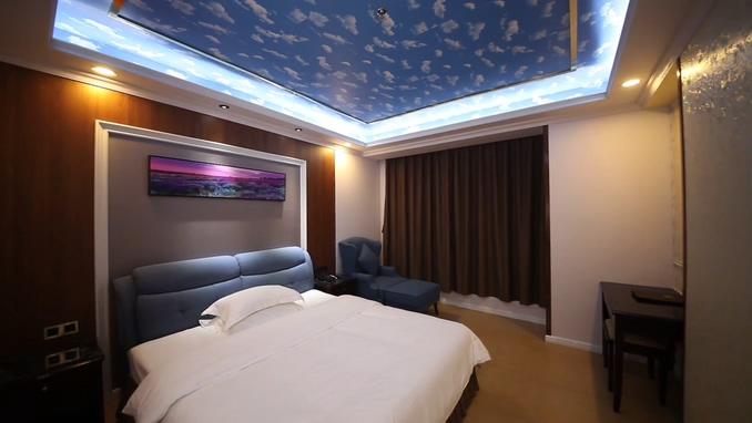 大床房,双床房,情侣主题,娱乐,客房,安全舒适,酒店,酒店客房餐饮内景拍摄宣传视频素材