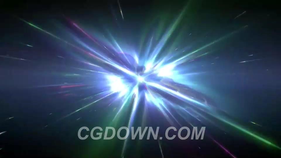 光芒,背景,闪耀,粒子,多彩,能量,蓝色视频素材