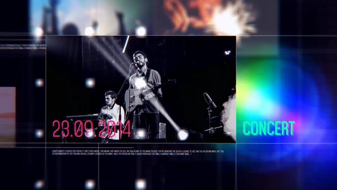 片段影像时间线介绍旅游相册DYNAMIC SLIDESHOW 9017424视频素材影视模板