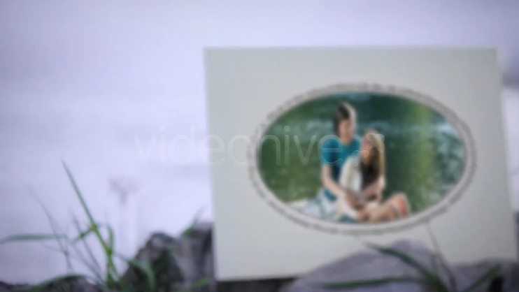 野外写实真实相册展示婚礼爱情记忆