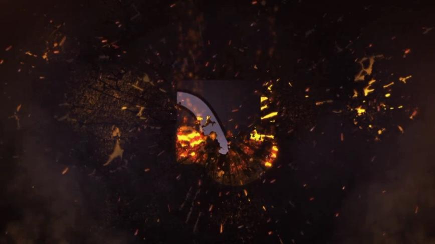片头,火花,烟火,火焰,爆炸,免费视频素材