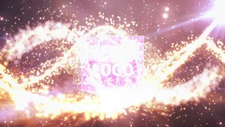 华丽,片头,碰撞,粒子,璀璨,免费视频素材