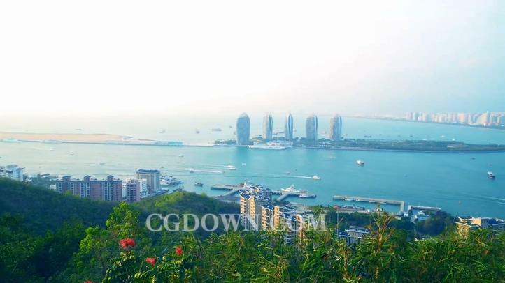中国,海南,三亚,实拍视频素材