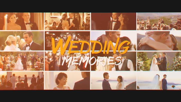 浪漫,温馨,婚礼,温暖,记忆,相册视频素材