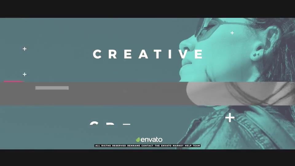动感潮流音乐节奏服装片头视频素材影视模板