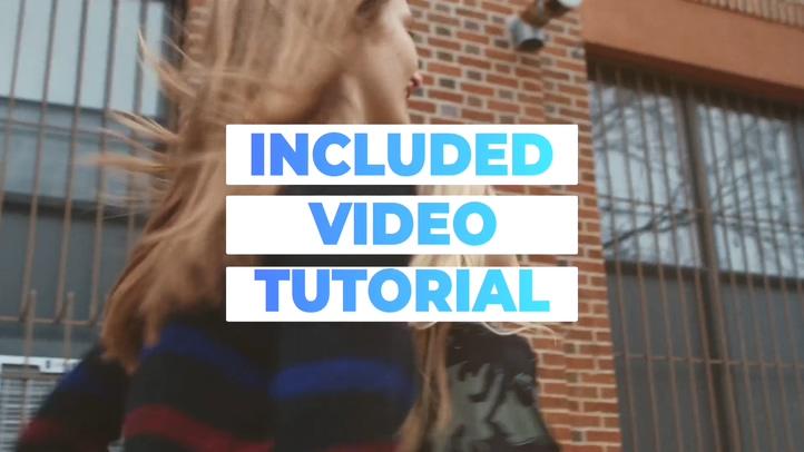 最新动感音乐节奏抖音时尚服装潮流片头视频素材影视模板