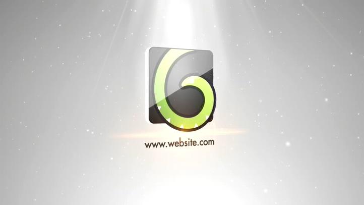 超炫阳光普照辉光耀斑科技登场logo片头视频素材影视模板