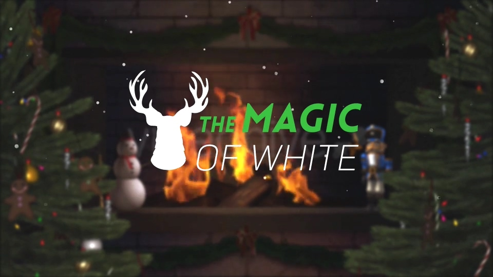 图形,动画,logo,卡通,简洁,圣诞节视频素材