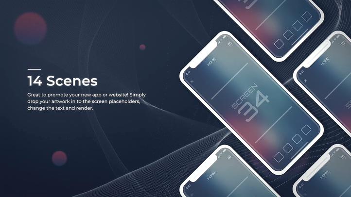手机app功能宣传介绍宣传片片头