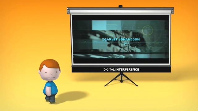 三维小人动画制作公司业务宣传动作模板