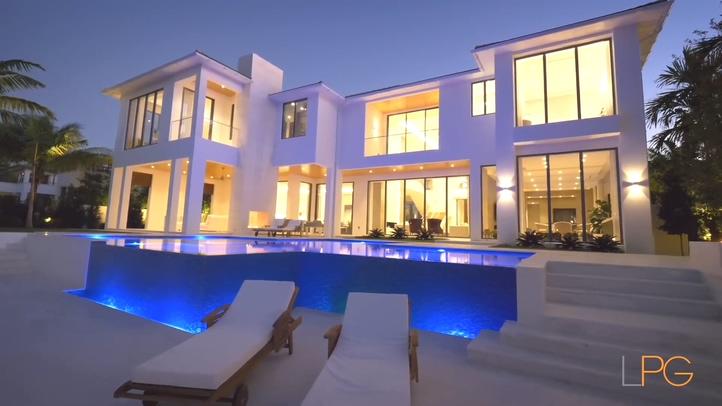美国佛罗里达豪宅装修实拍素材
